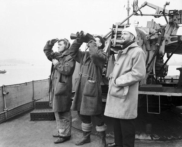 Dufflecoat im Krieg Britische Navy