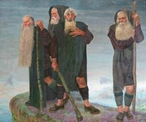 Älterwerden Die Eismänner