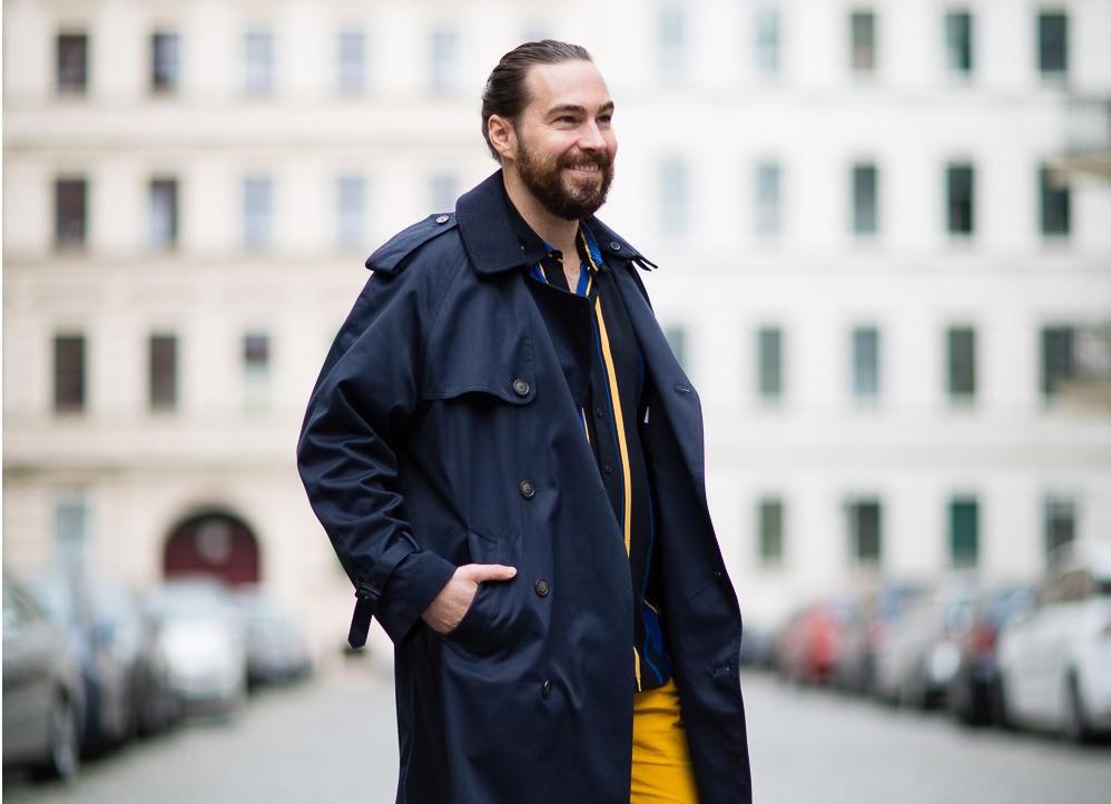 Wie Herren Den Trenchcoat Tragen Der Style Guide Von Style Statements