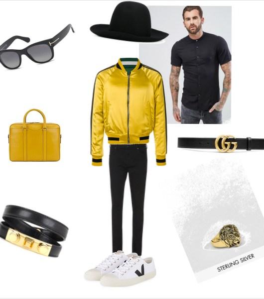 Gelbfieber Wie Männer Gelb tragen