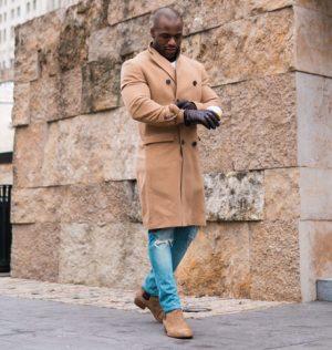 Zweireiher Mantel