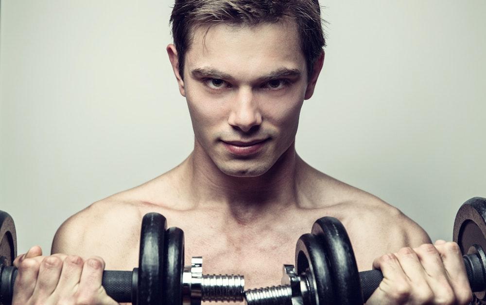 Mann Körper attraktiver aussehen