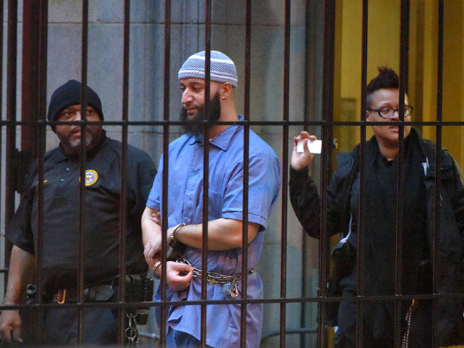 Image result for adnan syed in jail