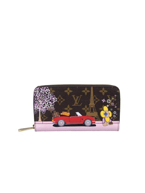 Louis Vuitton Wallet Zip Around Chirstmas Limited Editon