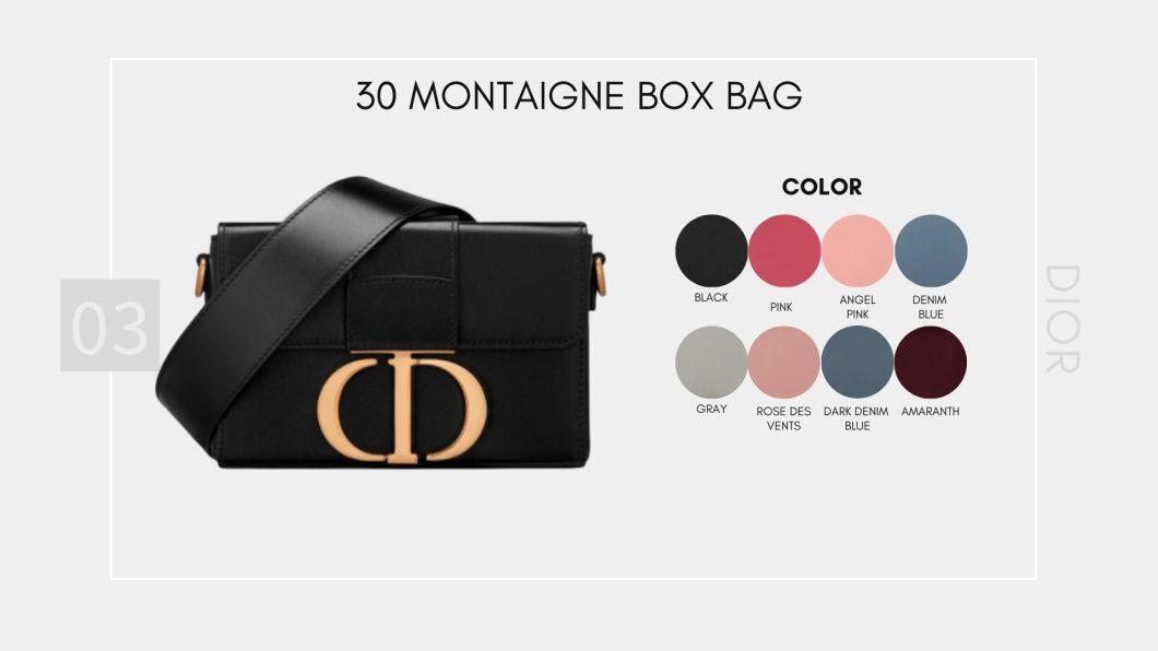 30 Montaigne Box Bag