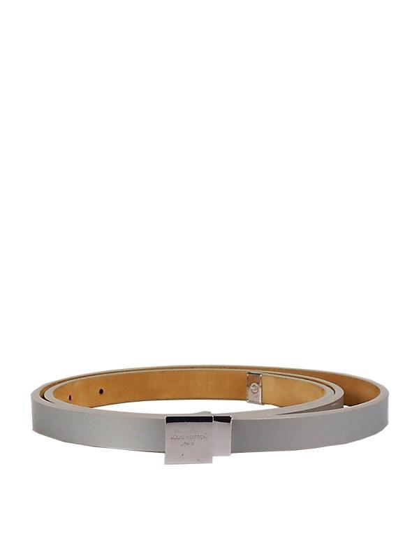 Louis Vuitton Belt in Gray