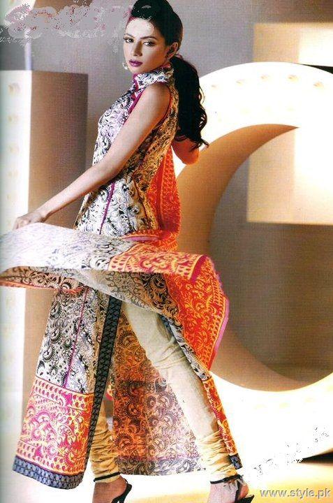 latest designs of churi daar pajama with kurta for girls