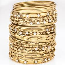 Fancy glass bangles