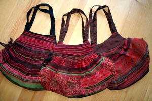 Latest embroiderd handbags