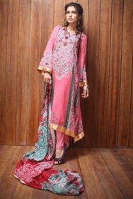 Firdous Linen Collection for Winter 2012 by Firdous Fashion b