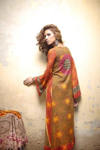 Firdous Linen Collection for Winter 2012 by Firdous Fashion p