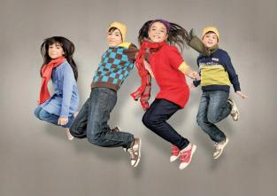 Leisure Club Crazy Coloured Cardigans Collection for Kids b