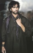black kurta shalwar for men (6)