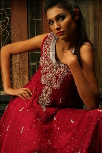 party wear for girls by sania collections (3)