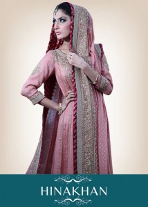 latest bridal collection 2012 by hina khan (1)