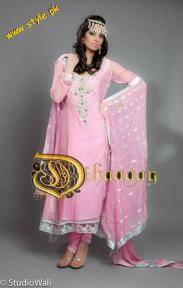 Dhaagay Haute Couture Collection For Summer By Madiha Malik 2012-001