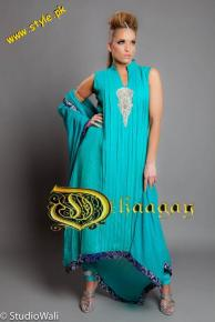 Dhaagay Haute Couture Collection For Summer By Madiha Malik 2012-003