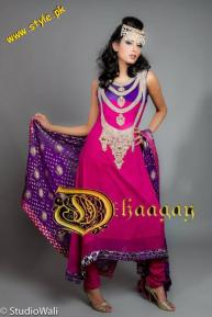 Dhaagay Haute Couture Collection For Summer By Madiha Malik 2012-004