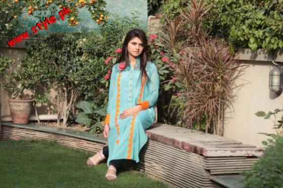 Latest Aleph By Mamoon Tariq Summer Collection 2012-004