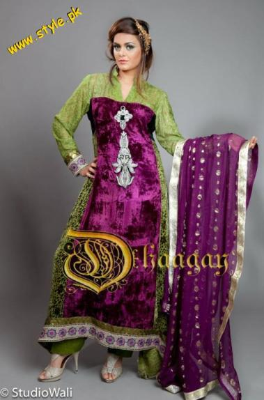 Latest Dhaagay Semi-Formal Wear Collection For Summer 2012-008