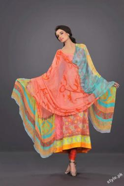 Latest HSY Lawn Prints 2012 - Complete Collection 4