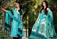Latestt Libas & Riwaj Lawn Summer Casual Wear Collection By Shariq Textiles 2012-019