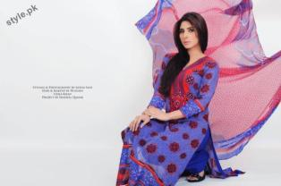 Stylish Lawn Dresses 2012 for Women of Pakistan 7