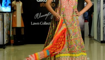 Umar Sayeed Lawn Collection 2012 by Al Karam 001