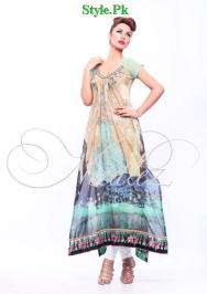 Latest Needlez by Shalimar Party Wear COllection 2012-006