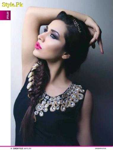 Mina Hassan Latest Summer Dresses For Women 2012-005
