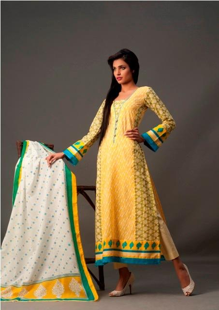 IMAGE lawn for women summer 2012 collection (2)