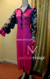 Nadya Visage Latest Casual Wear Collection 2012 002