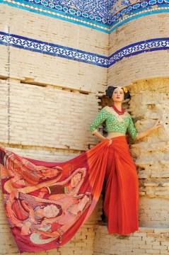 Resham Ghar Sarees Collection 2012 002