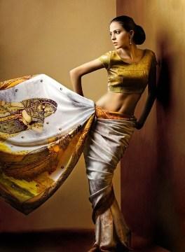 Resham Ghar Sarees Collection 2012 003