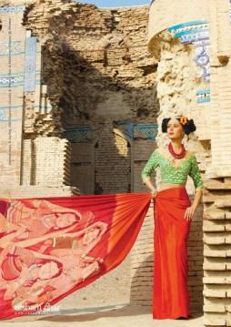Resham Ghar Sarees Collection 2012 005