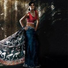 Resham Ghar Sarees Collection 2012 011