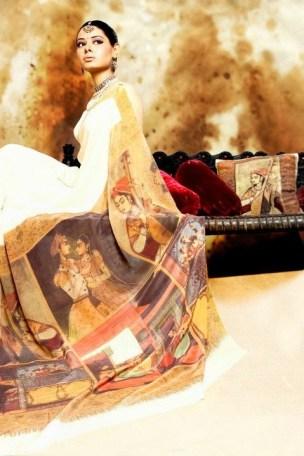 Resham Ghar Sarees Collection 2012 014