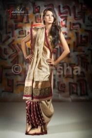 Eid-ul-Fitre 2012 Designer Saree Collection by Mansha010