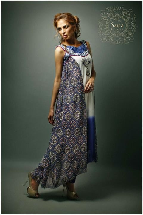 Saira Rizwan Summer 2012 Latest Collection