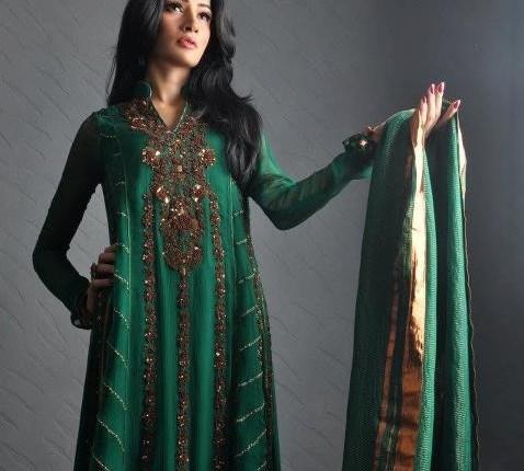 Umsha by Uzma Babar 2012 Collection New Designs