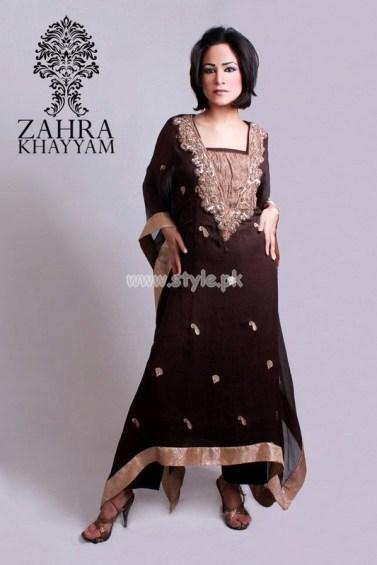 Zahra Khayyam Latest Party Wear Dresses 2012 001