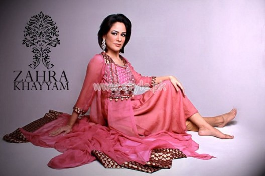 Zahra Khayyam Latest Summer 2012 Formal Dresses 003