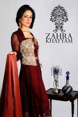 Zahra Khayyam Latest Summer 2012 Formal Dresses 005