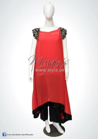 Muzain's Latest Collection 2012 for Women 012