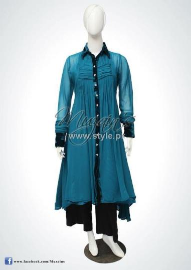 Muzain's Latest Collection 2012 for Women 013