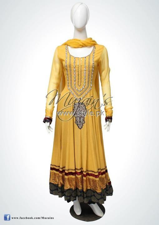 Muzain's Latest Collection 2012 for Women