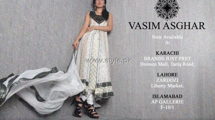 Vasim Asghar Eid Collection 2012 for Ladies