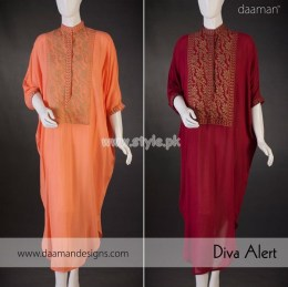 Daaman Exclusive Eid 2012 Latest Collection For Women 004