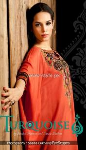 Turquoise Eid Collection 2012 for Ladies 003