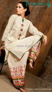 Turquoise Eid Collection 2012 for Ladies 004